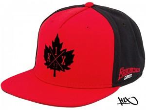 K1X Franchise Snapback Cap red/navy