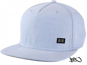 K1X Oxford Snapback Cap sky blue