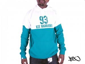 Mikina K1X Warriors boston green/white