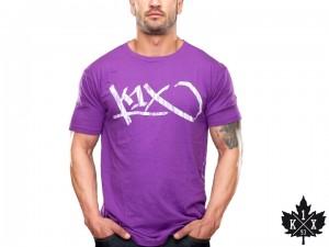 Triko K1X Tag violet/white